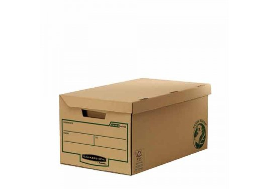 Containers d'archivage flip top maxi FSC x10 EARTH SERIES / FELLOWES