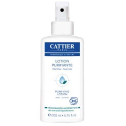 Lotion purifiante - Menthe & Tea Tree / CATTIER