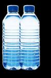 Recyclage de 2 bouteilles plastique.
