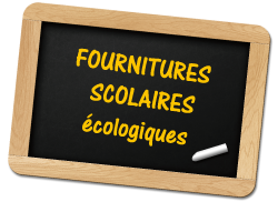 fournitures scolaires ecologiques