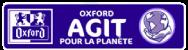 Logo : Oxford agit pour la planète.