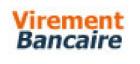 Logo : virement bancaire.